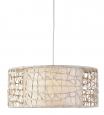 Designova stropná lampa C-U-C me 60cm krémová