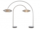 Moderná stojanová lampa Kai Arc M