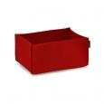 Obdĺžnikový košík Hey Sign červený