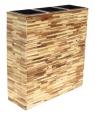 Kvetináč predelový z dreva 70x28x73 cm