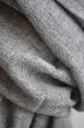 Kašmírový šál 100% šedý