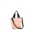 Taška Reisenthel Shopper XS Kids Cats and Dogs Rose