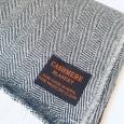 Kašmírová deka šedá