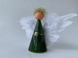 Anjel strážny Teo štíhly zelený