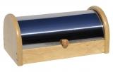 Chlebník nerez-drevo