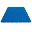 Vlnený koberec modrý