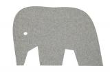 Detský koberec Slon šedý