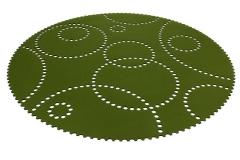 Kruhový koberec