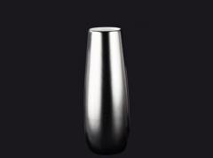 Strieborná keramická váza