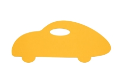 koberec auto žlté