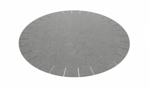 Kruhový koberec 180cm Franse