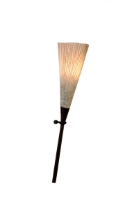 Moderná lampa Luau l na stenu