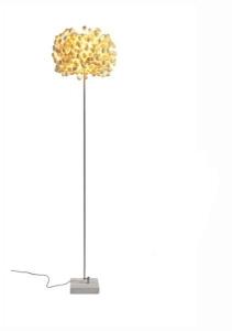 Designova stojanová lampa White Space