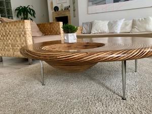 Konferenčný stolík  kruhový Paloma