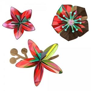 Dekoračné kvety na stenu-Tropical breeze