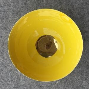 Keramická miska žltá