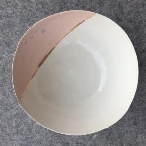 Keramická miska so zlatom