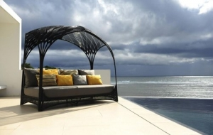 Hagia posteľ exterierová