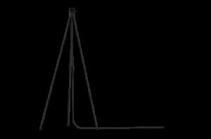 Stojan na lampy UMAGE čierna