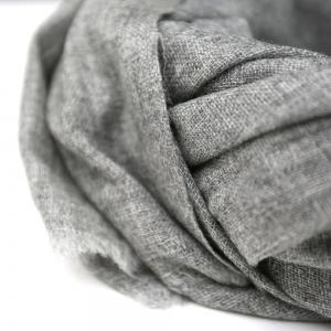 Kašmírový šál tenký šedý