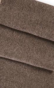 Kašmírový šál 100% hnedý