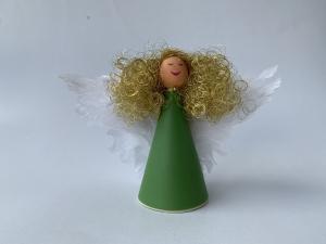 Anjel strážny Zias štíhly zelený