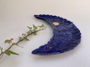 Keramická miska mesiac modrý