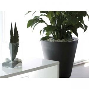 Kvetináč sklolaminát S 41x41x36 cm