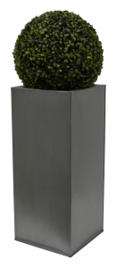 Kvetináč pozinkovaný plech S 26x26x60 cm