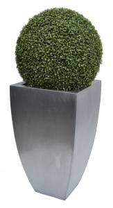 Kvetináč pozinkovaný plech M 34x34x58 cm