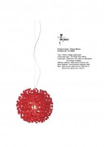 Moderné stropné svietidlo Cherry Moon