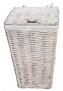 Kôš na prádlo  40x40x63 biely