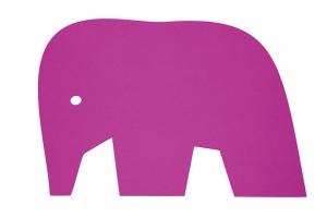 Detský koberec Slon rúžový