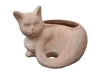 Keramická mačka - Sunix, kvetináče ,reisenthel,bytove doplnky